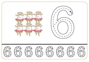 lets count and write printables (6)