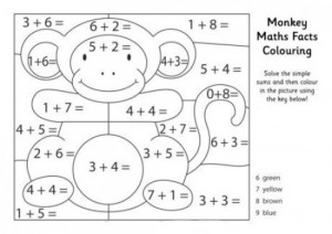 maths facts colouring pages (1)