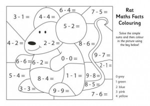 maths facts colouring pages (2)