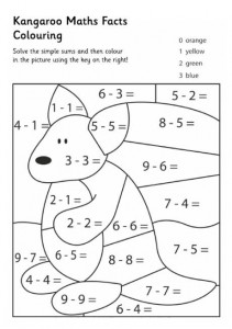 maths facts colouring pages (5)