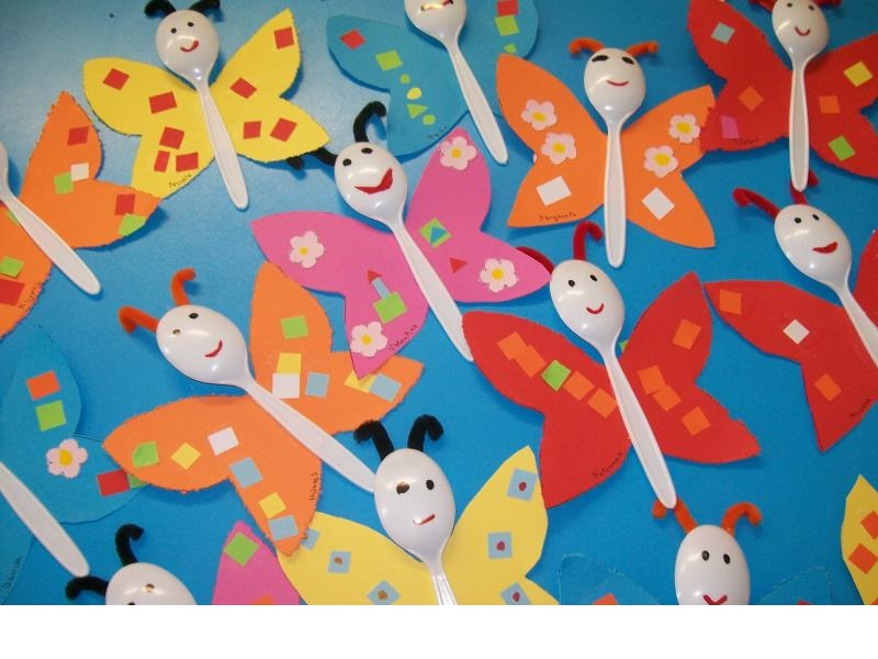 Butterfly craft ideas for preschool 187 plastic spoon butterfly crafts