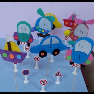 preschool car craft