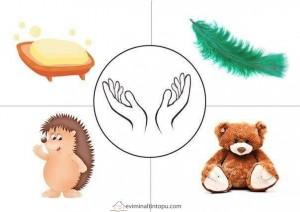preschool five sense worksheets (14)