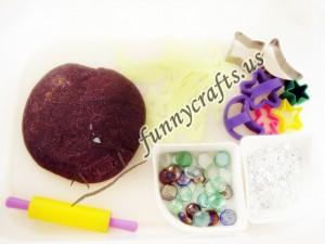 preschool space play dough activities