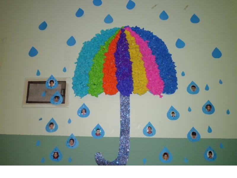 Rain crafts for preschool » rain craft for kıds (4)