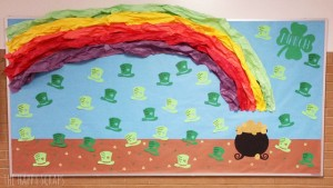 rainbow bulletin board ideas for kıds (23)