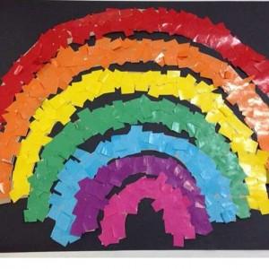 rainbow bulletin board ideas for kıds (32)