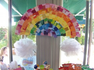 rainbow bulletin board ideas for kıds (4)