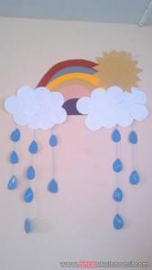rainbow bulletin board ideas for kıds (8)