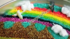rainbow sensory bin ideas for kids