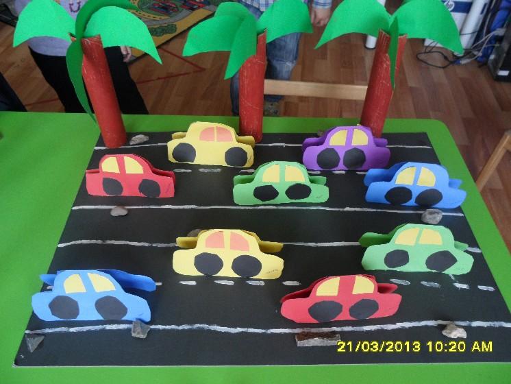 Road car craft for k ds funnycrafts for Car craft for kids