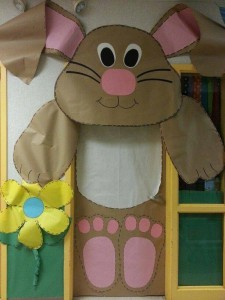 school door decoration for easter (3)