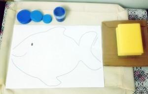 sponge paint art project for kıds (1)