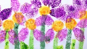 sponge paint art project for kıds (16)