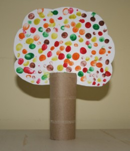 spring fall tree crafts