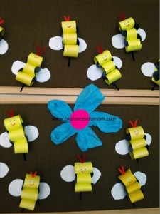 spring insect bulletin board ideas for kıds (28)