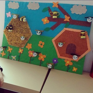 spring insect bulletin board ideas for kıds (8)