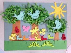 spring paper crafts