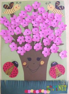 spring tree craft (3)