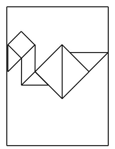 tangram coloring pages - photo#36