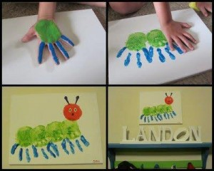 the best footprint crafts for kids to make (10)