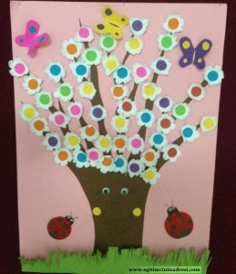 tree spring crafts