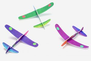 Styrofoam airplane craft