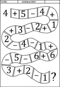 addition and subtraction worksheets (5)