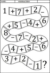 addition and subtraction worksheets (8)