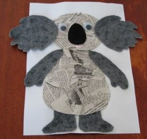 animals newspaper crafts (2)