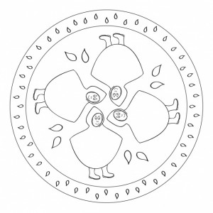 april rain mandala coloring pages (4)