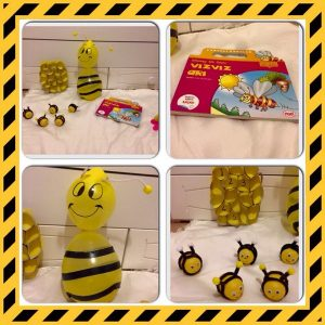bee theme homeschool activities