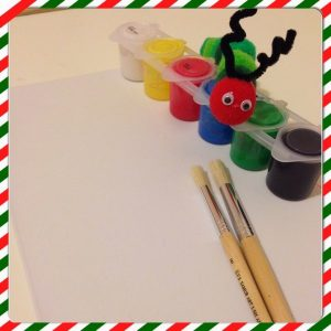 caterpillar crafts for kids