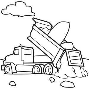 construction coloring pages kidstoddlers 7