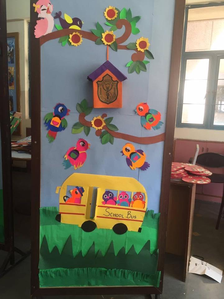 cool spring door decorations for preschoolers 5