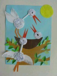 cotton pads animals crafts (1)