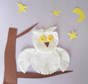 cotton pads animals crafts (6)