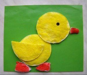 cotton pads animals crafts (8)