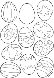 easter egg coloring pages (1)