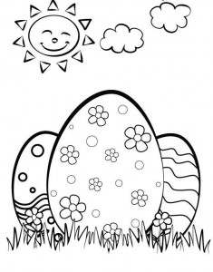 easter egg coloring pages (2)