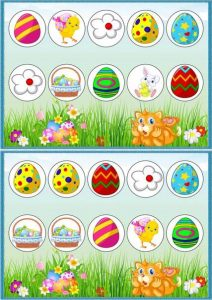 easter theme unit and printables