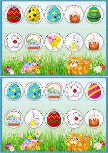 easter worksheets and easter games for kids
