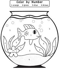fish color by number coloring pages (11)