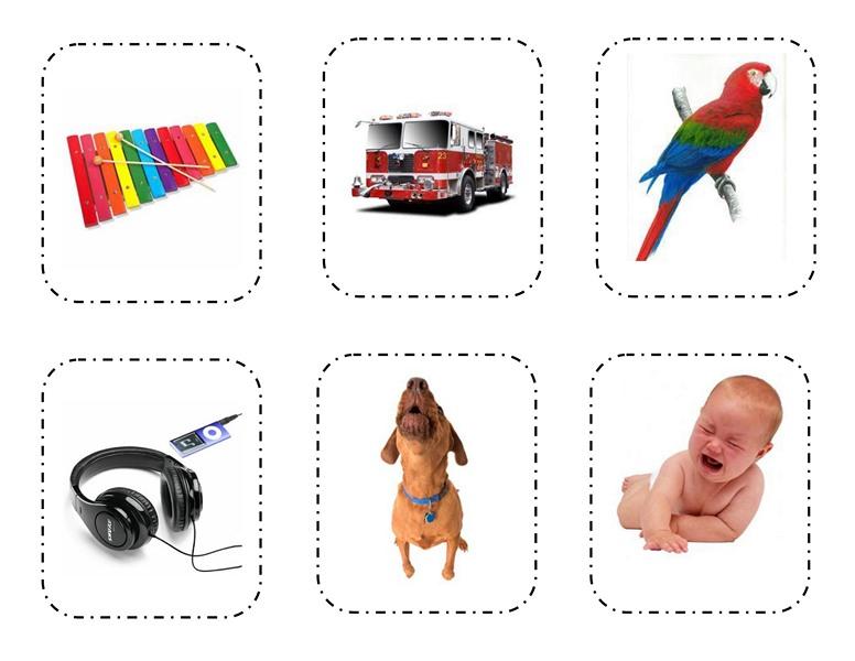Five Senses Sorting Printables 5 on Umbrella Preschool Craft