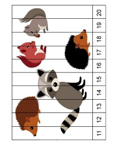 forest animals number sequence (2)