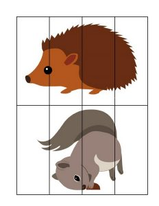 forest animals puzzles (2)