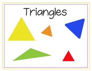 free Triangle printables (2)
