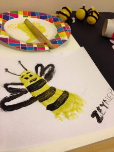 fun bee art activities for kids