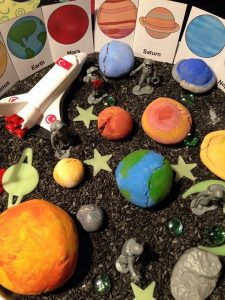 fun space activities for kids
