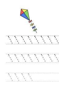 key handwriting worksheet